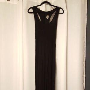 Massimo Black Maxi Dress